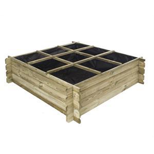 de vierkante moestuin jardisquare. Black Bedroom Furniture Sets. Home Design Ideas